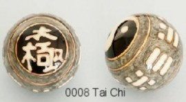 Therapy ball 40mm - Tai Chi #0008 - 2 ball set