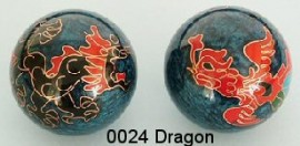 Therapy ball 40mm - Dragon #0024 - 2 ball set