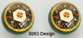 Therapy ball 40mm - Design #0063 - 2 ball set