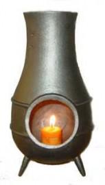 ChimeneaCast Iron Mini-Fireplace