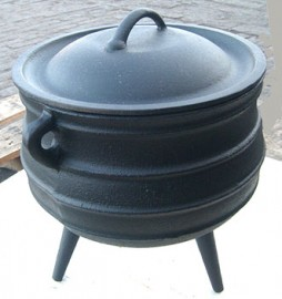 Cast Iron Cauldron, Size 14