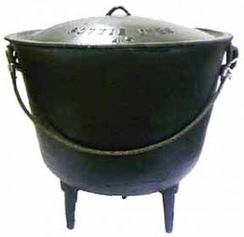 Cast Iron Cauldron size 55