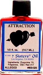 ATTRACTION 7 Sisters Oil