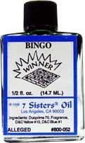 BINGO 7 Sisters Oil