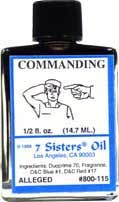 COMMANDING 7 Sisters Oil