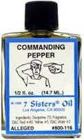 COMMANDING PEPPER 7 Sisters Oil