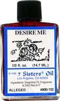 DESIRE ME 7 Sisters Oil