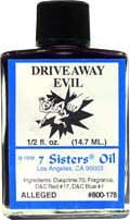 DRIVE AWAY EVIL 7 Sisters Oil