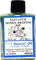 FAST LUCK/MONEY 7 Sisters Oil