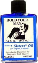 HOLD YOUR MAN 7 Sisters Oil