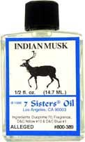 INDIAN MUSK 7 Sisters Oil