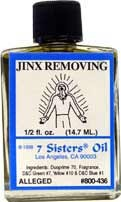 JINX REMOVING 7 Sisters Oil