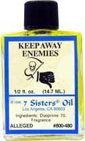 KEEP AWAY ENEMIES 7 Sisters Oil