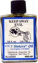KEEP AWAY EVIL 7 Sisters Oil