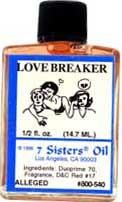 LOVE BREAKER 7 Sisters Oil