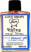 LOVE DROPS 7 Sisters Oil