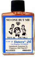 NO ONE BUT ME 7 Sisters Oil