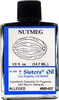 NUTMEG 7 Sisters Oil