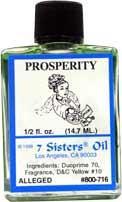 PROSPERITY 7 Sisters Oil