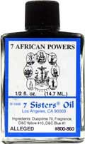 7 AFRICAN POWERS 7 Sisters Oil
