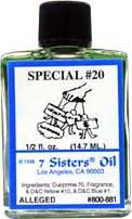 SPECIAL 20 7 Sisters Oil