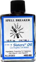 SPELL BREAKER 7 Sisters Oil