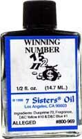 WINNING NUMBER 7 Sisters Oil