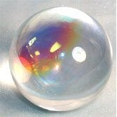 Aurora Crystal Ball (50mm) 2 inches in Diameter