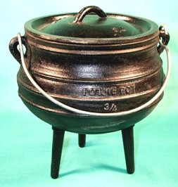Cast Iron Cauldron, Size 1/2