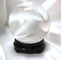 2 in round Crystal Ball (50mm) - Clear