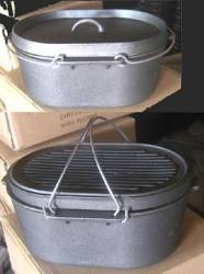 Dutch Oven Oval Self-Basting Roaster
