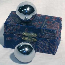 Therapy ball 40mm - Plain - 2 ball set