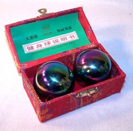 Therapy ball 40mm - Rainbow - 2 ball set